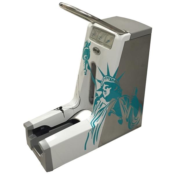 Automatic Shoe Cover Dispenser ~ Si shoe cover dispenser g